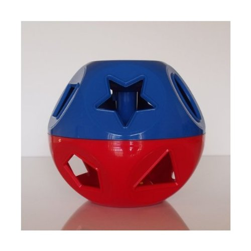 Tupperware Shape O Ball Toy Red & Blue