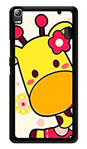 "Humor Gang Cute Baby Giraffe Printed Designer Mobile Back Cover For ""Lenovo A7000 - Lenovo A7000 Plus - Lenovo A7000 Turbo - Lenovo k3 note"" (3D, Glossy, Premium Quality Snap On Case)"