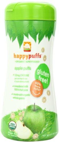 happybaby  禧贝  Organic Puffs 有机番薯泡芙 60g*6瓶 $14.76