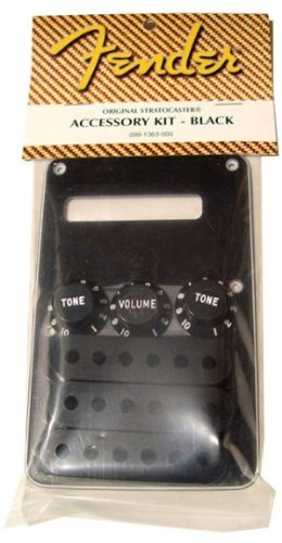 Fender Accessories 099-1363-000  Electric Guitar Strat Accessory Kit – Black