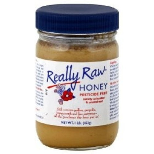 Really Raw Honey - Totally Unprocessed, 16-Ounce