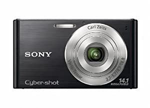 Sony DSCW320B Cyber-shot Digital Camera  - Black (14.1 MP, 4x Optical Zoom) 2.7 inch LCD