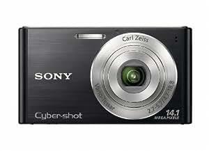 Sony DSCW320B Cyber-shot Digital Camera  - Black (14.1 MP, 4x Optical Zoom) 2.7 inch LCD