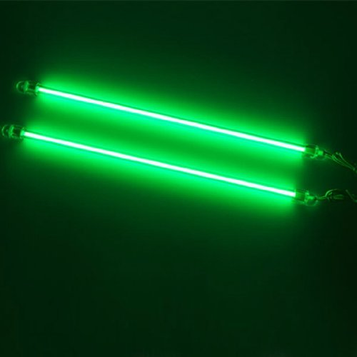 2 X Green 6 Inches Ccfl Cold Cathode Under Car / Mod Kit Pc Computer Led Light Lamp