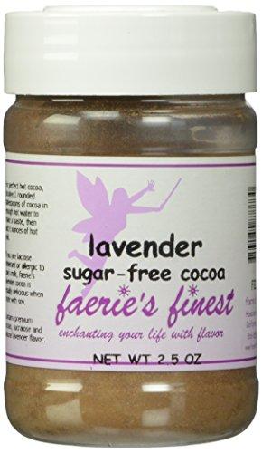 Faeries Finest Sugar-Free Cocoa, Lavender, 2.50 Ounce