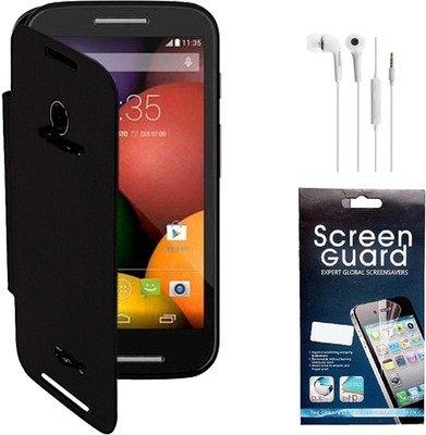 Hastkala Micromax Canvas 2 Color A120 Grey) Flip Cover ( Free Original sony earphones + screen guard + USB Cable)
