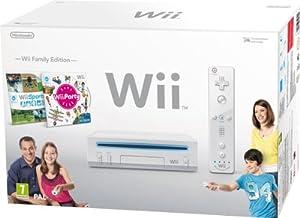 Nintendo Wii Hw Blanca + Wii Party + Wii Sports