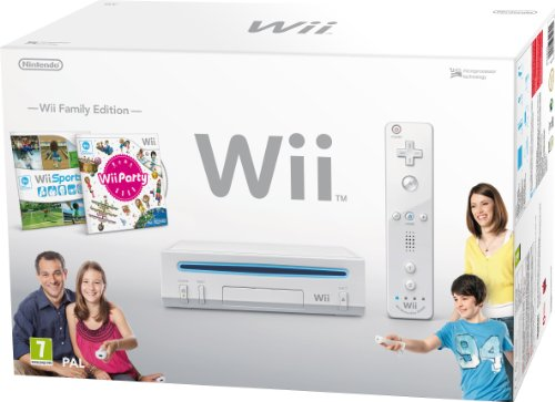Nintendo Wii - Console con Wii sport e Wii party