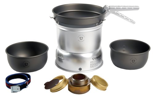 Trangia 27 Hardanodised Cookset With Spirit Burner