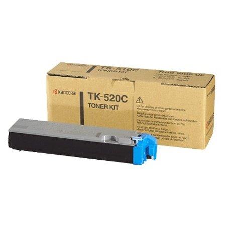 Kyocera TK 520C - Cartouche de toner - 1 x cyan - 4000 pages