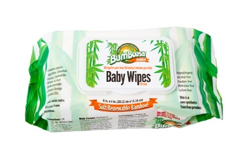 Bamboo Baby Wipes 80 Ct