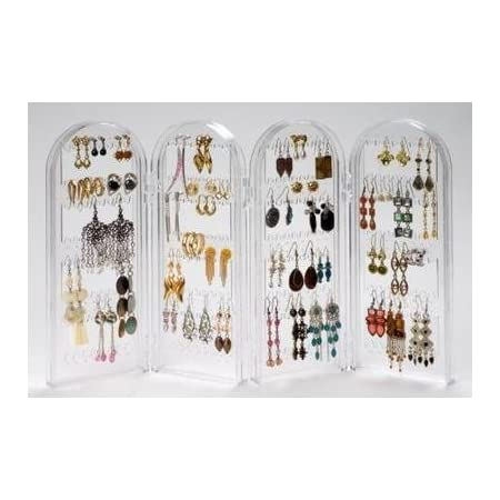 Earring Screen Stand Storage Caddy