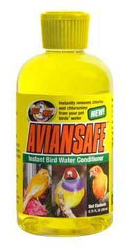 Zoo Med Laboratories Bzma402 Aviansafe Water Conditioner, 2.25-Ounce