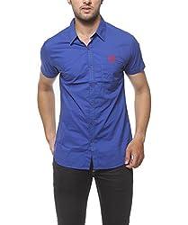SPYKAR Men Cotton Ink Casual Shirt (Medium)