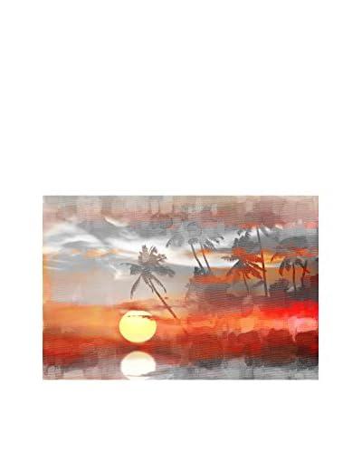 Parvez Taj Reflective Sun Canvas Wall Art