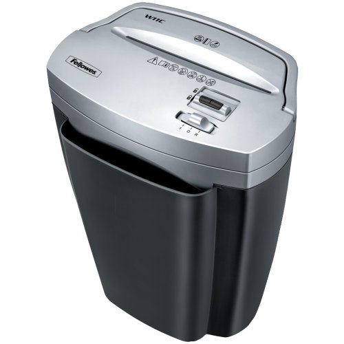 Fellowes Powershred W11C, 11-Sheet Cross-cut Paper and Credit Card Shredder with Safety Lock  (3103201)