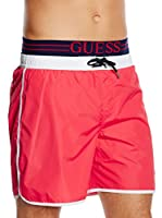 Guess Bañador Tipo Bermuda Medium Board (Fresa)