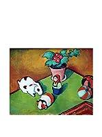 Especial Arte Lienzo Walterchens Spielsachen - Macke August Multicolor