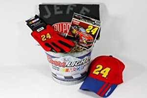 NASCAR Jeff Gordon Gift Basket by The Sport Basket
