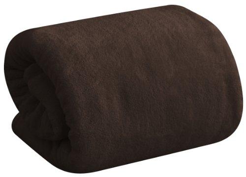 ottostyle.jp 【フワッとやさしい肌触り】 マシュマロタッチ マイクロファイバー毛布 シングル (140×200cm) ブラウン