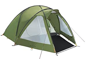 Vaude Division Dome 4-5 Person Tent - Green by Vaude