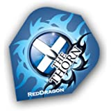 F6087 Red Dragon Rhino Extra Thick The Thorn STD Dart Flights 4 Sets pro Pack (12 Flights insgesamt).