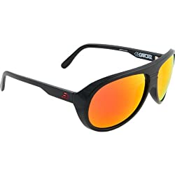 Gatorz Ely Adult Designer Sunglasses - Black/Red Sunburst