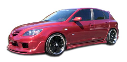2004-2009 Mazda 3 Duraflex K-1 Side Skirts Rocker Panels - 2 Piece (Body Kit Mazda 3 compare prices)