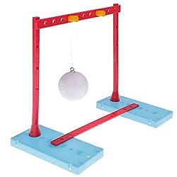 Generic DIY Not Blow Opened Ball Science Equipment Mechanics Knowledge Kids Learning Mechanics Study