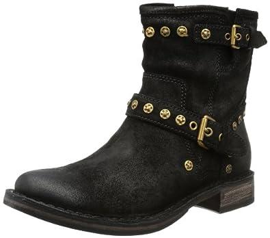 UGG Australia Fabrizia Studs Black Sheepskin Boot 5.5 M US