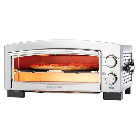 BLACK + DECKER 5 Minutes Pizza Oven (Black And Decker Oven Tray Part compare prices)