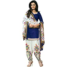 Arawins Women's Party Wear Cotton Unstitched Dress Material | Patiyala Suit Valentine Day Special Offer Gift For...