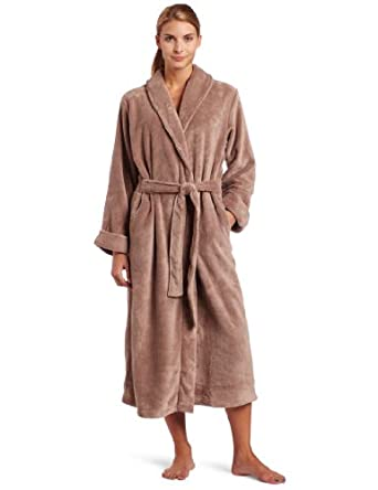 Casual Moments Women's Wrap Robe at Amazon Women's Clothing store