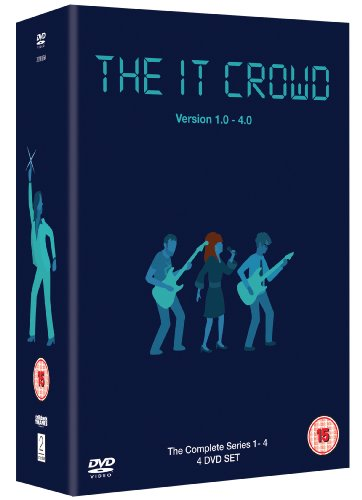 The IT Crowd - Series 1-4 [Import anglais]