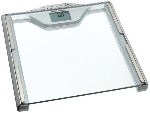 Image of Health o Meter BFM681-63 Body Fat Scale, Clear with Silver Accents (BFM681DQ63)