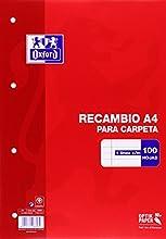 Comprar Oxford 100430210 - Recambios (100 hojas)
