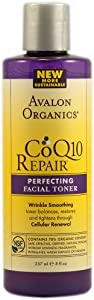 Avalon Organics CoQ10 Repair Perfecting Facial Toner, 8 Ounce (Pack of 2)