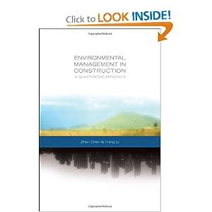 Environmental management in construction: a quantitative approach Chen, Heng