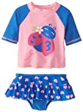 WATCH Me Grow. por Sesame Street Baby-Girls recién nacido de 2 piezas Mariquita traje, azul, 3 - 6 meses Color: Azul Tamaño: 3 - 6 meses (Baby/Babe/Infant - Little Ones)