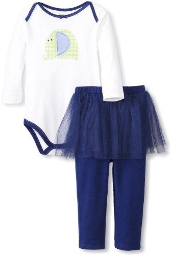 凑单品:Gerber 嘉宝 女童纯棉连身衣两件套
