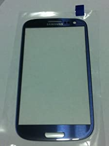 Samsung OEM Samsung Galaxy S3 III GT-i9300 Blue Front Glass LCD Display and Touch Screen not included Mobile Phone Repair Part Replacement