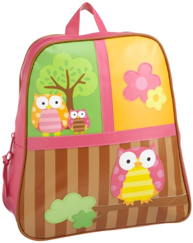 Stephen Joseph Little Girls' Little Girls' Go-Go Bag, Owl, One Size