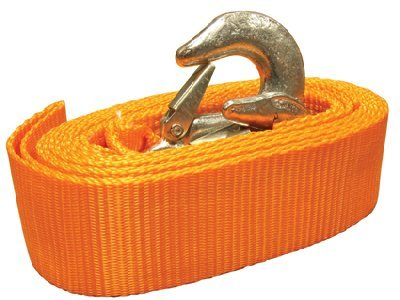 Towing belt 4.5 tonne strap tow rope 3.5 metre long with free carry case