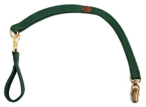 Mendota Products Versa-Belt Dog Lead, Hunter Green, 1 x 30-Inch