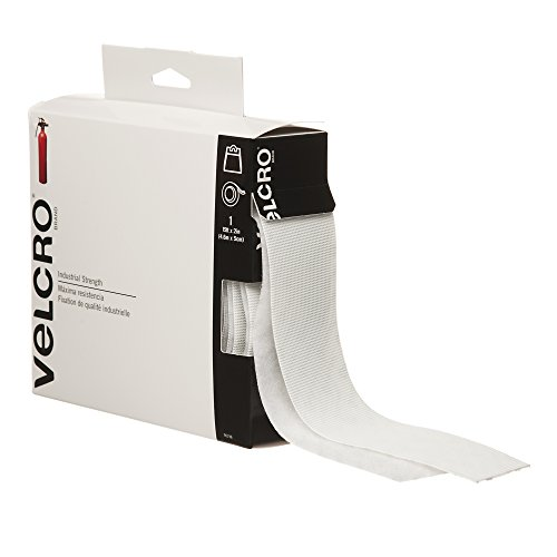 New VELCRO Brand  - Industrial Strength - 2 Wide Tape, 15' - White
