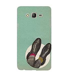 EPICCASE Gentleman shoes Mobile Back Case Cover For Samsung Galaxy E5 (Designer Case)
