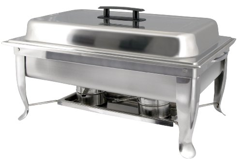 Winco C-1080 8-Quart Foldable Frame Chafer Set, Full