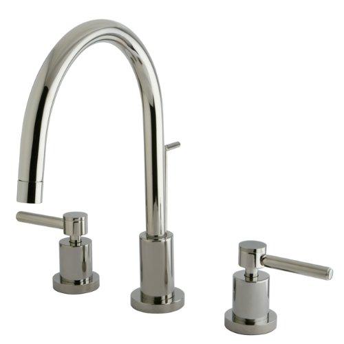 Kingston Brass KB962PL Widespread Lavatory Faucet Polished Brass