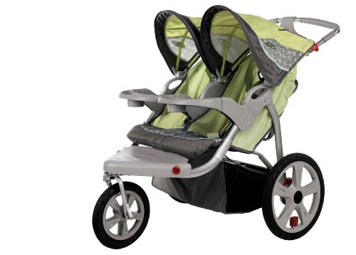 Best Deals! InStep Safari Swivel Wheel Double Jogger