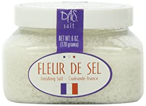 Das Foods Fleur de Sel De Guerande- French Sea Salt ; 6oz